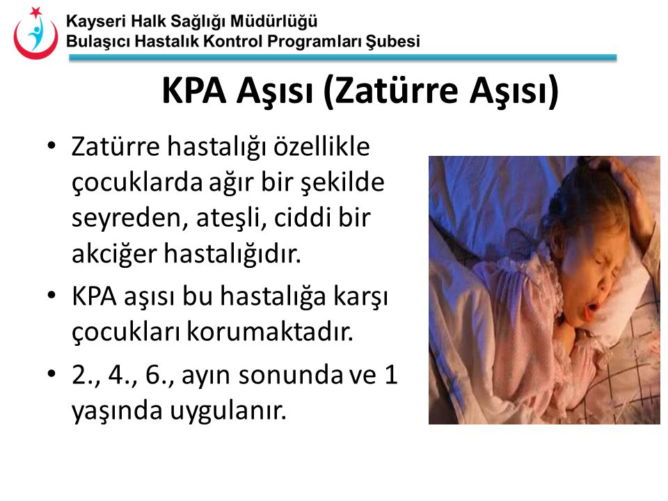 KPA Aşısı (Zatürre Aşısı)