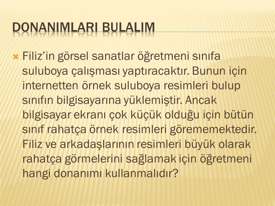 DONANIMLARI BULALIM
