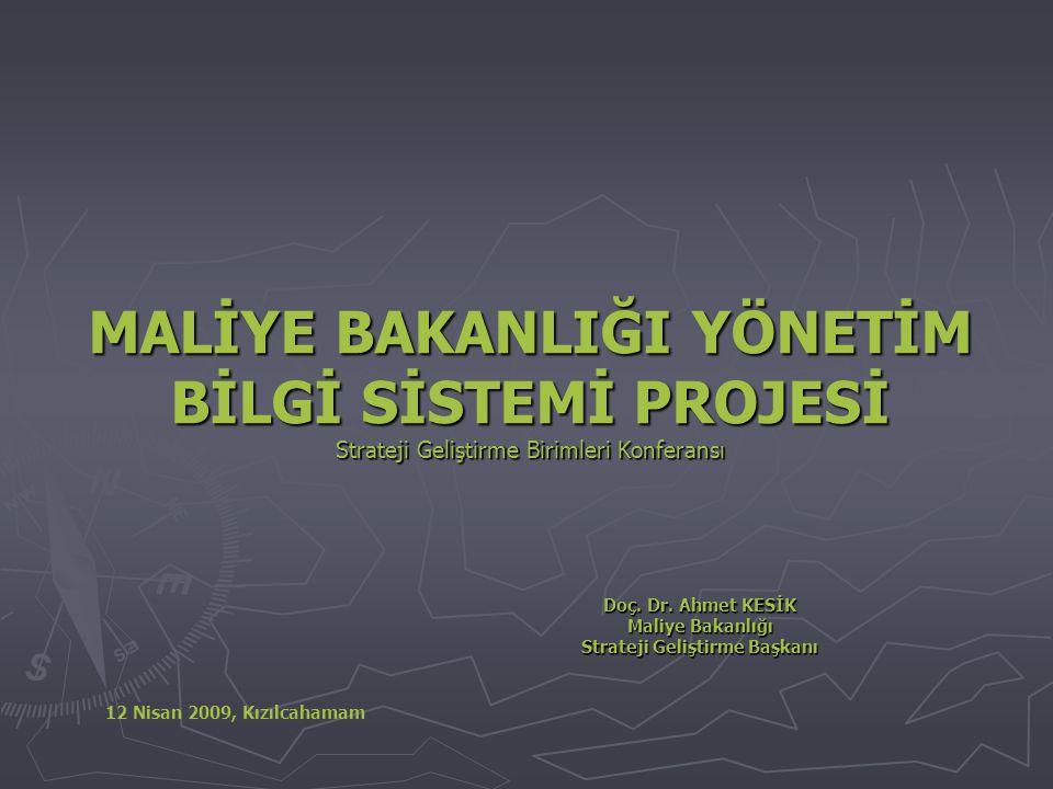 Doç. Dr. Ahmet KESİK Maliye Bakanlığı Strateji Geliştirme Başkanı