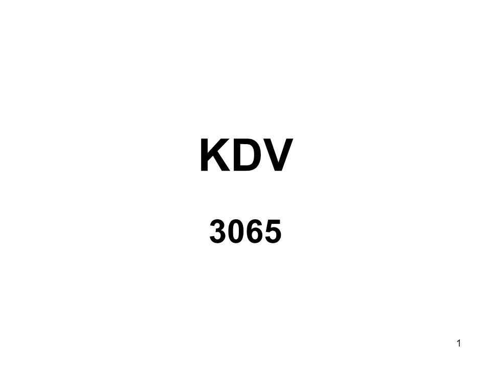 KDV 3065