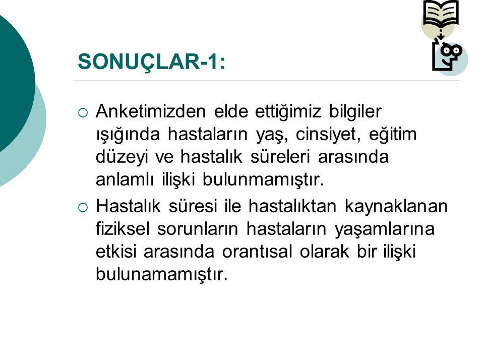 SONUÇLAR-1: