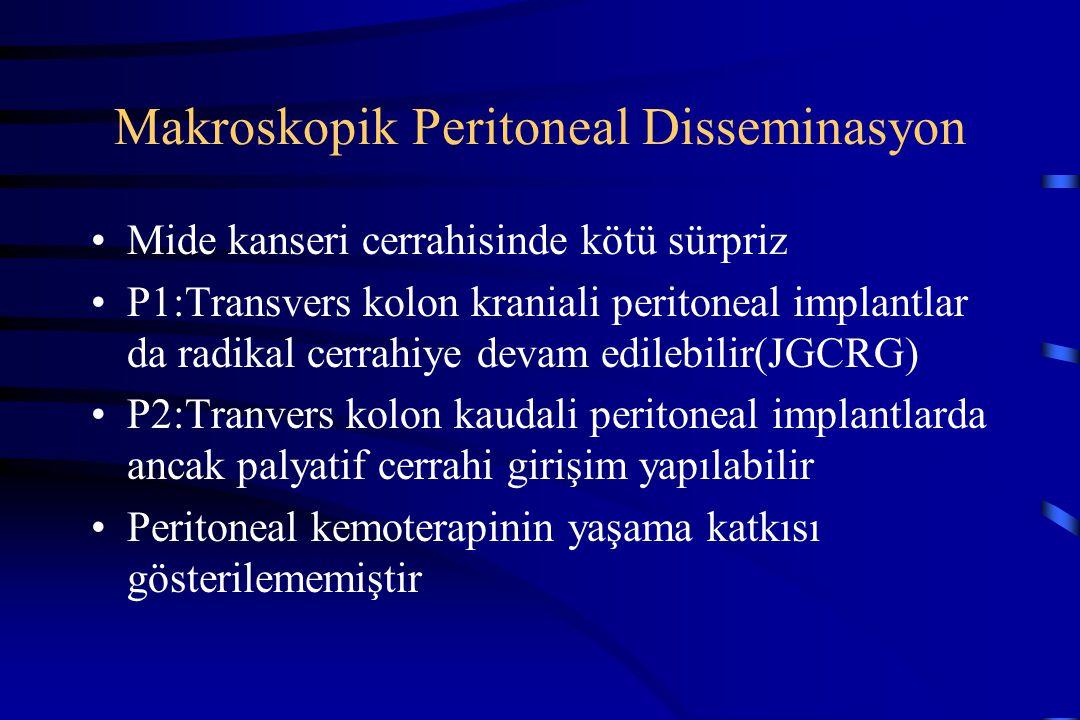 Makroskopik Peritoneal Disseminasyon