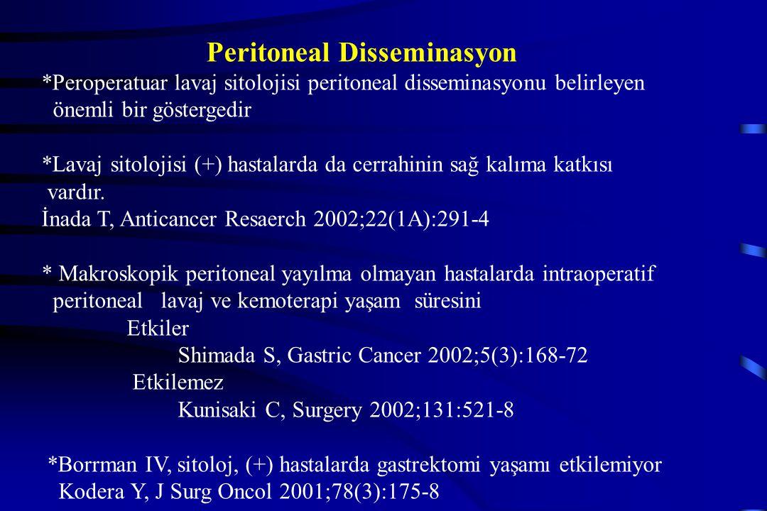 Peritoneal Disseminasyon