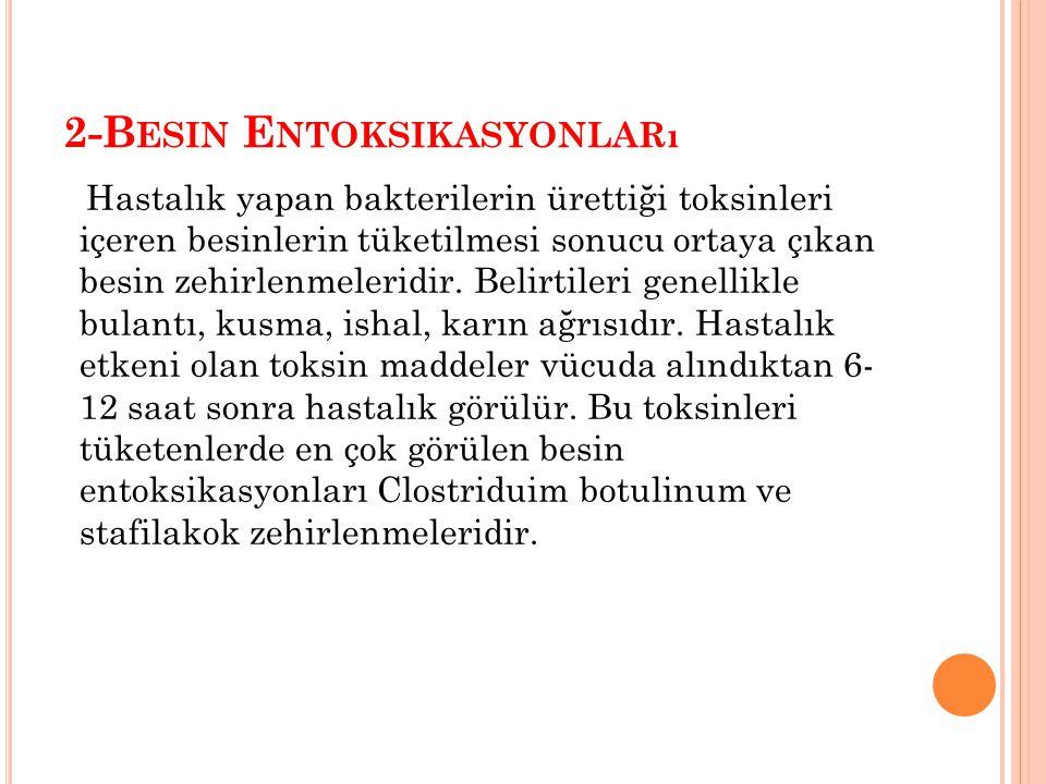 2-Besin Entoksikasyonları