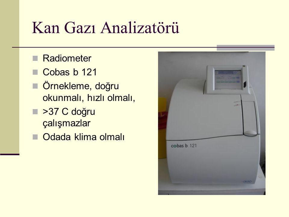Kan Gazı Analizatörü Radiometer Cobas b 121