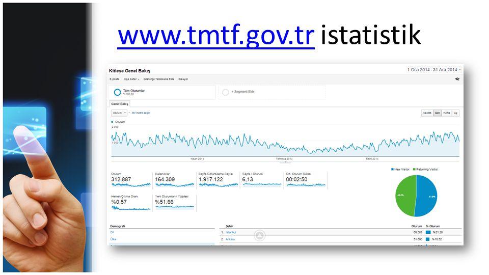 www.tmtf.gov.tr istatistik