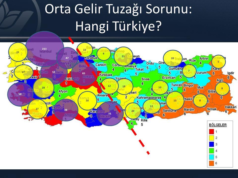 Orta Gelir Tuzağı Sorunu: Hangi Türkiye
