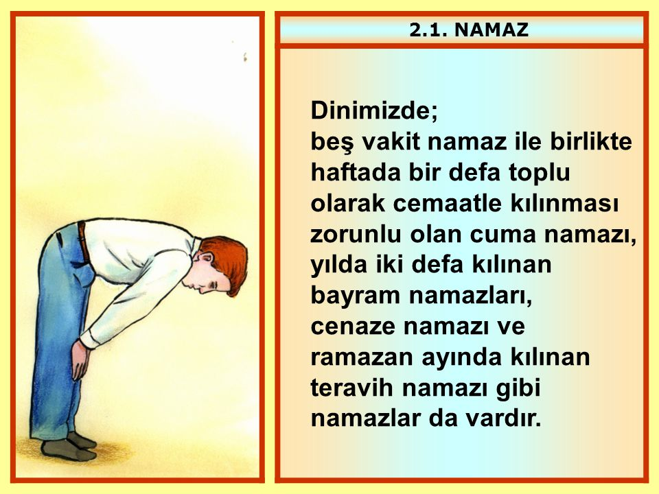 2.1. NAMAZ