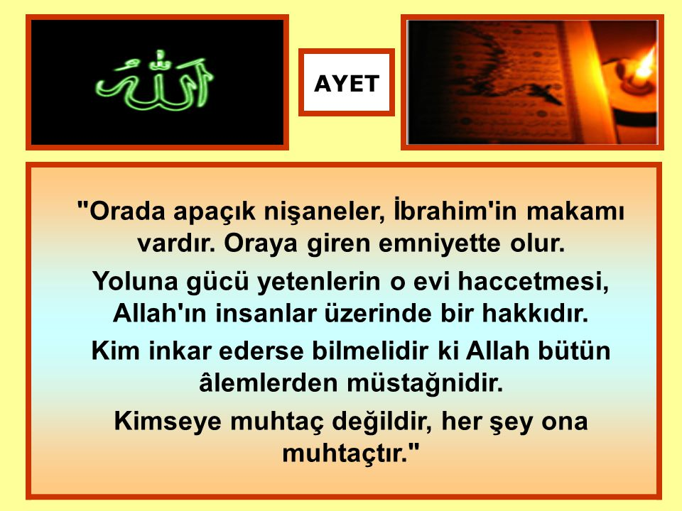 Kim inkar ederse bilmelidir ki Allah bütün âlemlerden müstağnidir.