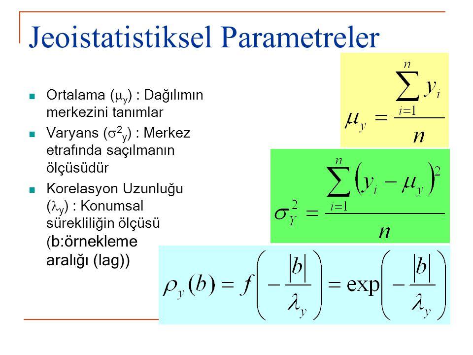 Jeoistatistiksel Parametreler