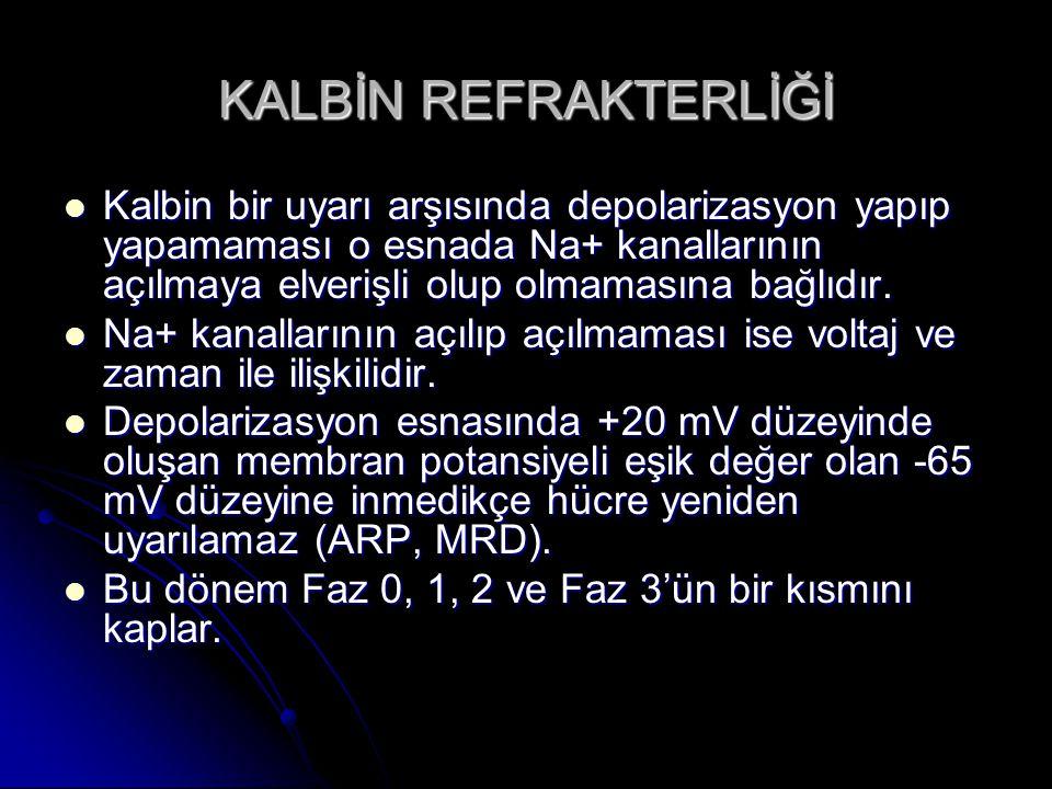 KALBİN REFRAKTERLİĞİ