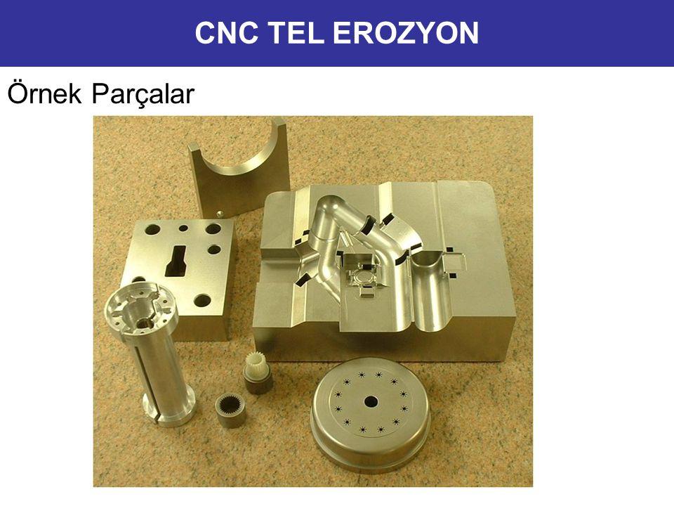 CNC TEL EROZYON Örnek Parçalar 10