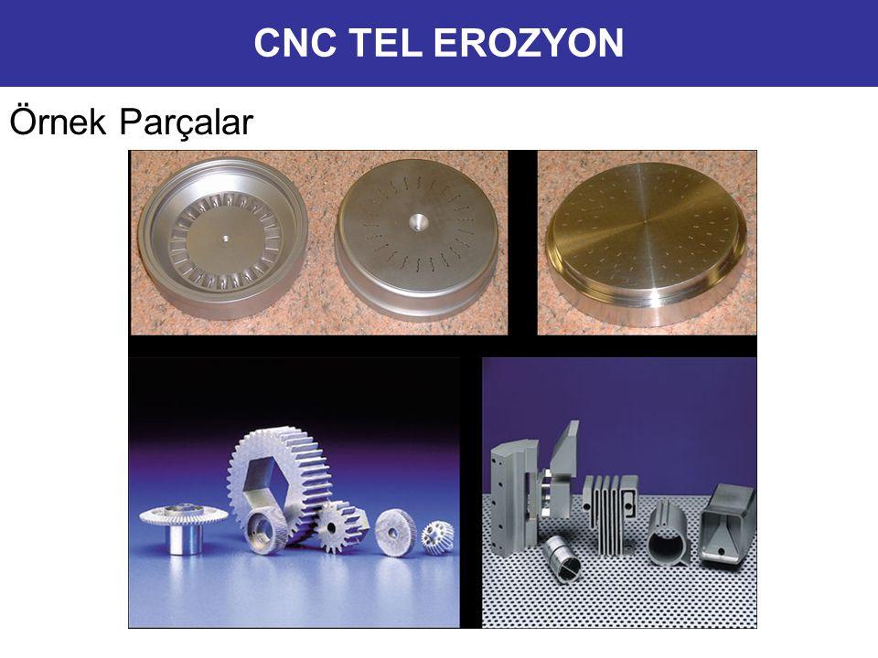 CNC TEL EROZYON Örnek Parçalar 11