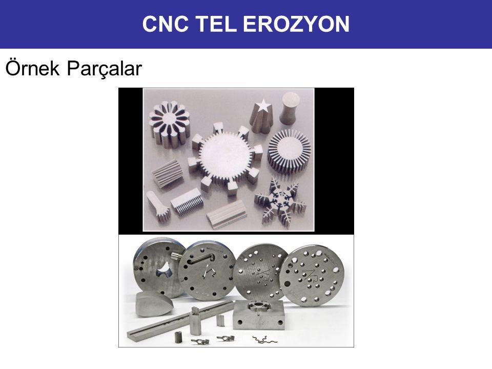 CNC TEL EROZYON Örnek Parçalar 12
