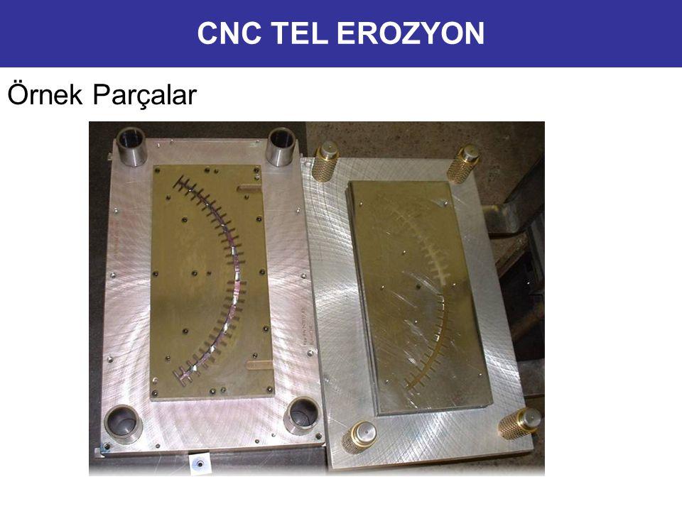 CNC TEL EROZYON Örnek Parçalar 9
