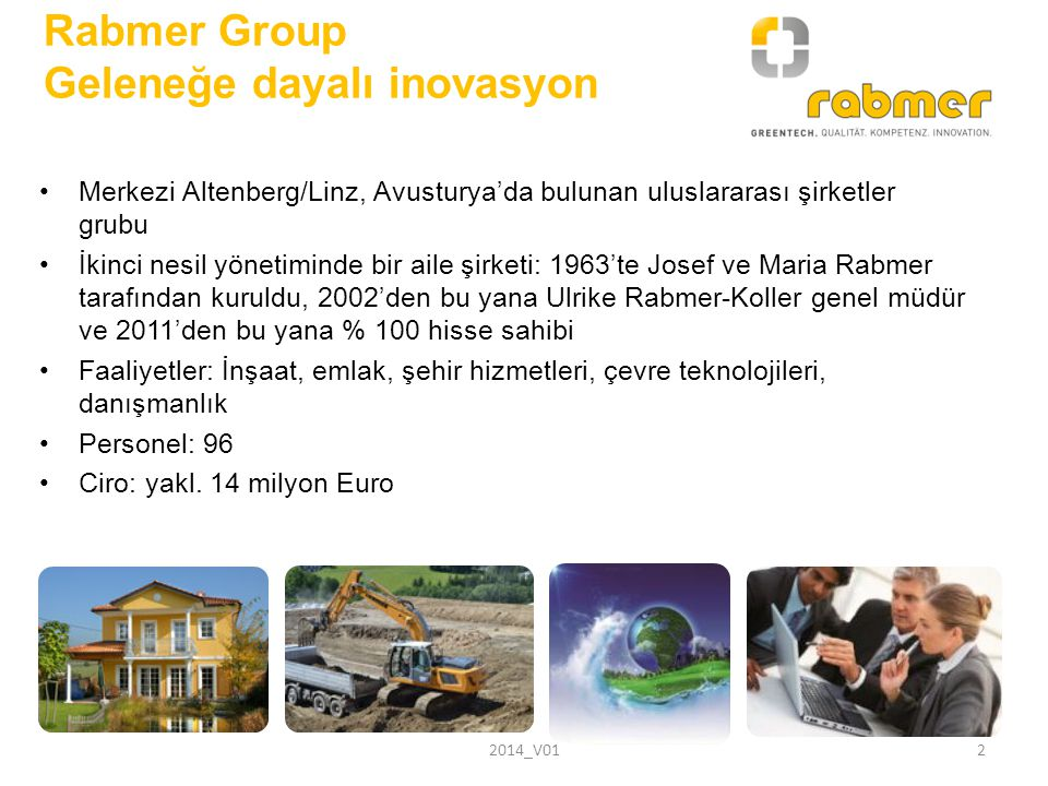Rabmer Group Geleneğe dayalı inovasyon