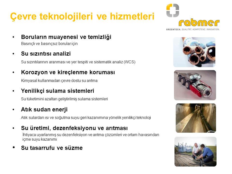 Çevre teknolojileri ve hizmetleri