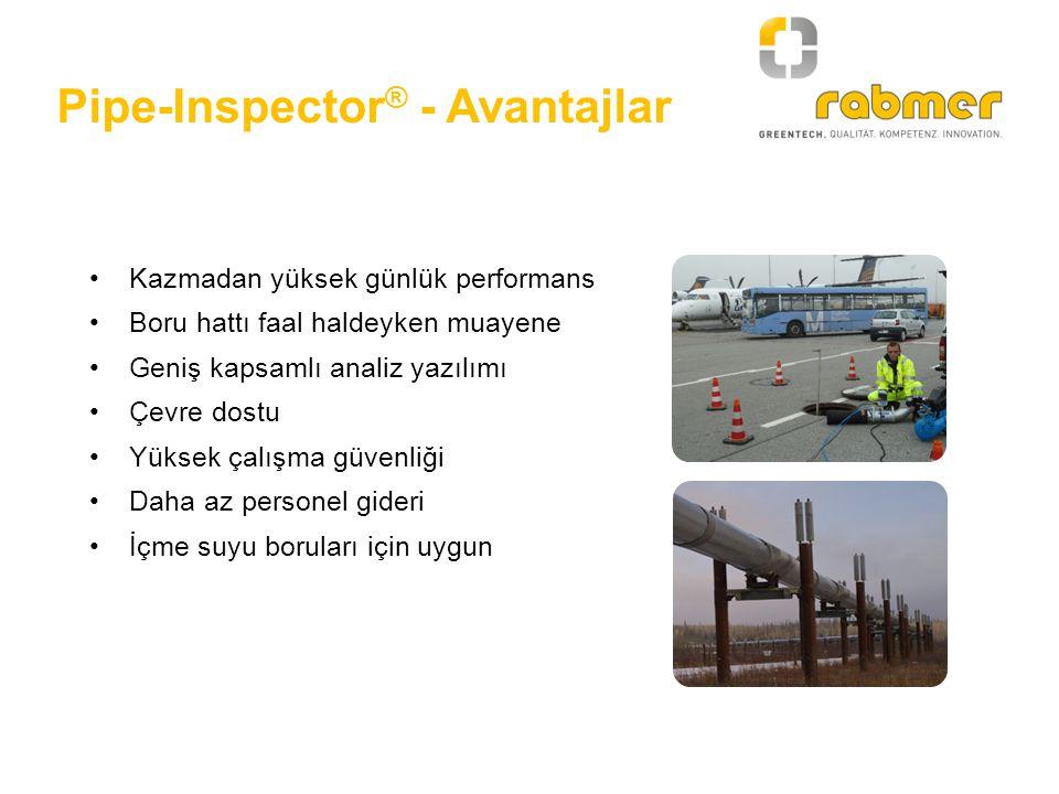 Pipe-Inspector® - Avantajlar