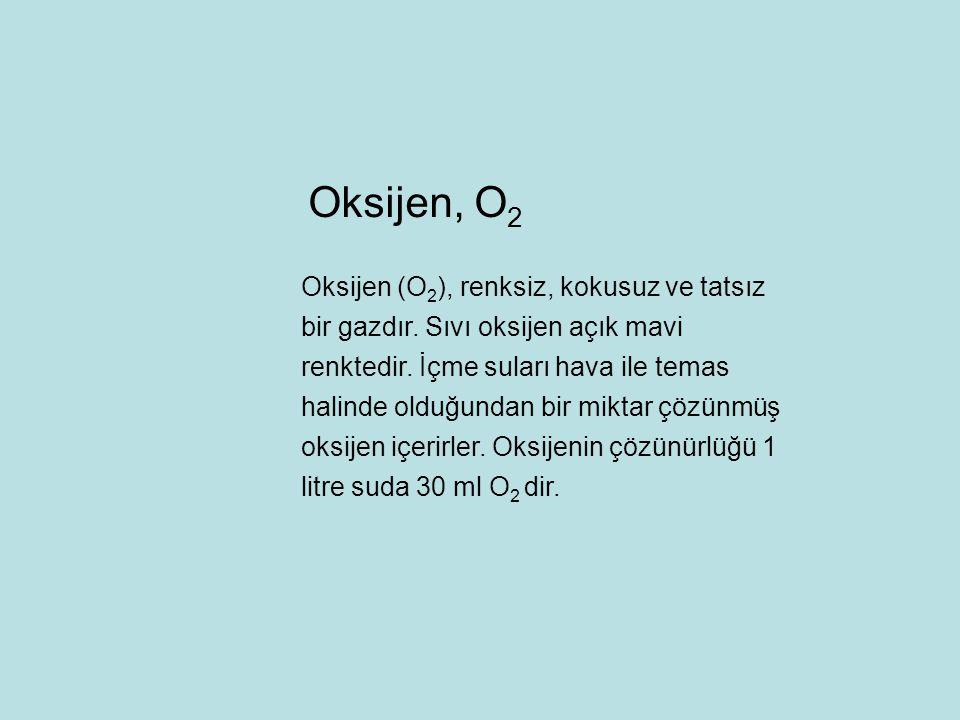 Oksijen, O2