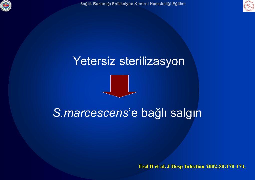 S.marcescens'e bağlı salgın
