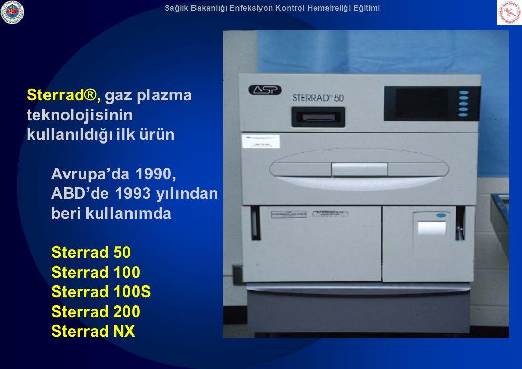 Sterrad®, gaz plazma teknolojisinin kullanıldığı ilk ürün