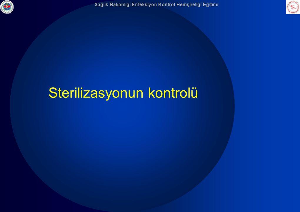 Sterilizasyonun kontrolü