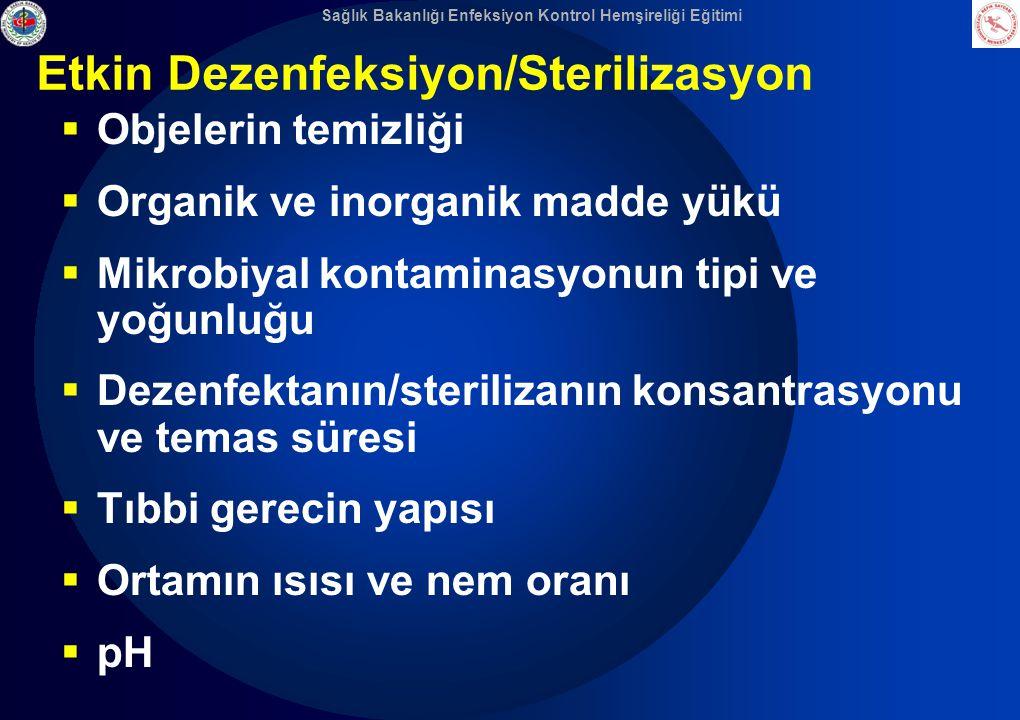 Etkin Dezenfeksiyon/Sterilizasyon