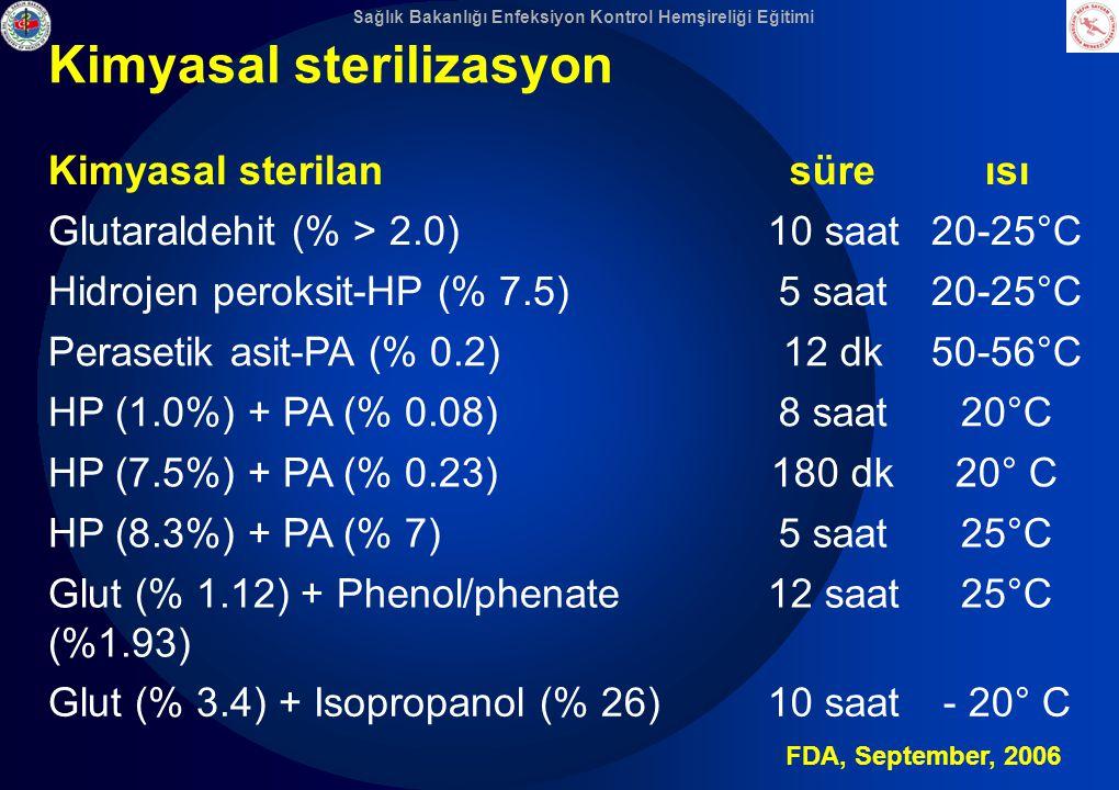 Kimyasal sterilizasyon