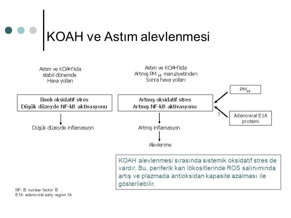 KOAH ve Astım alevlenmesi