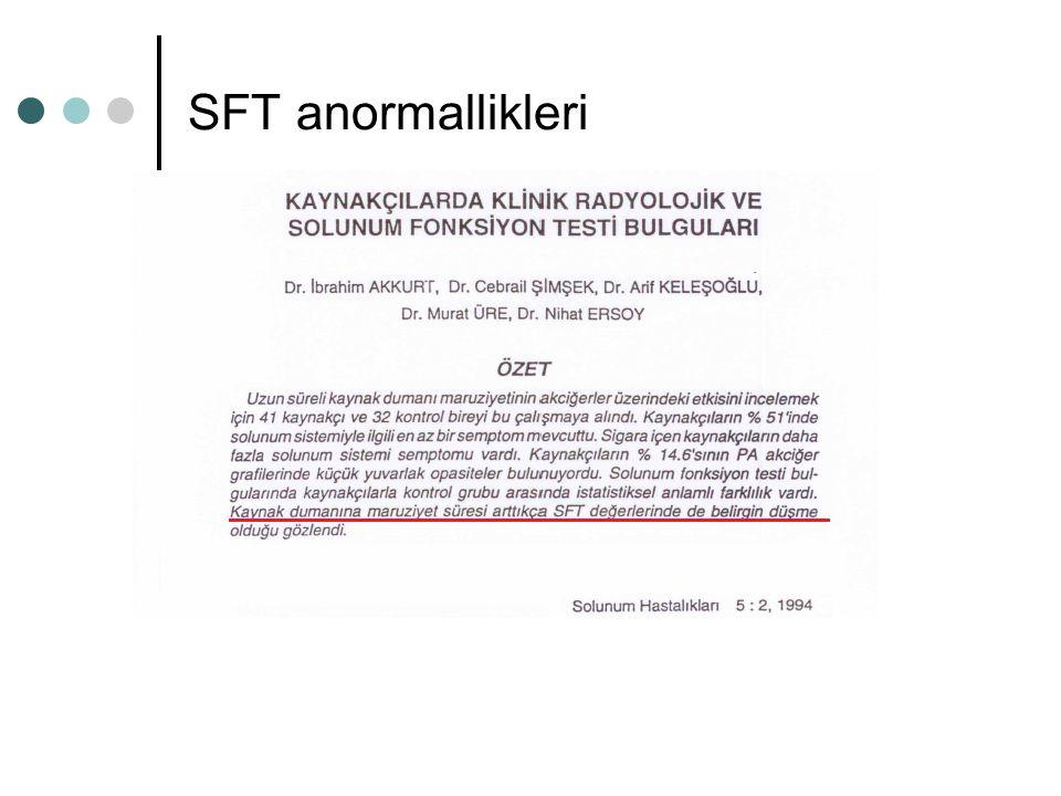 SFT anormallikleri
