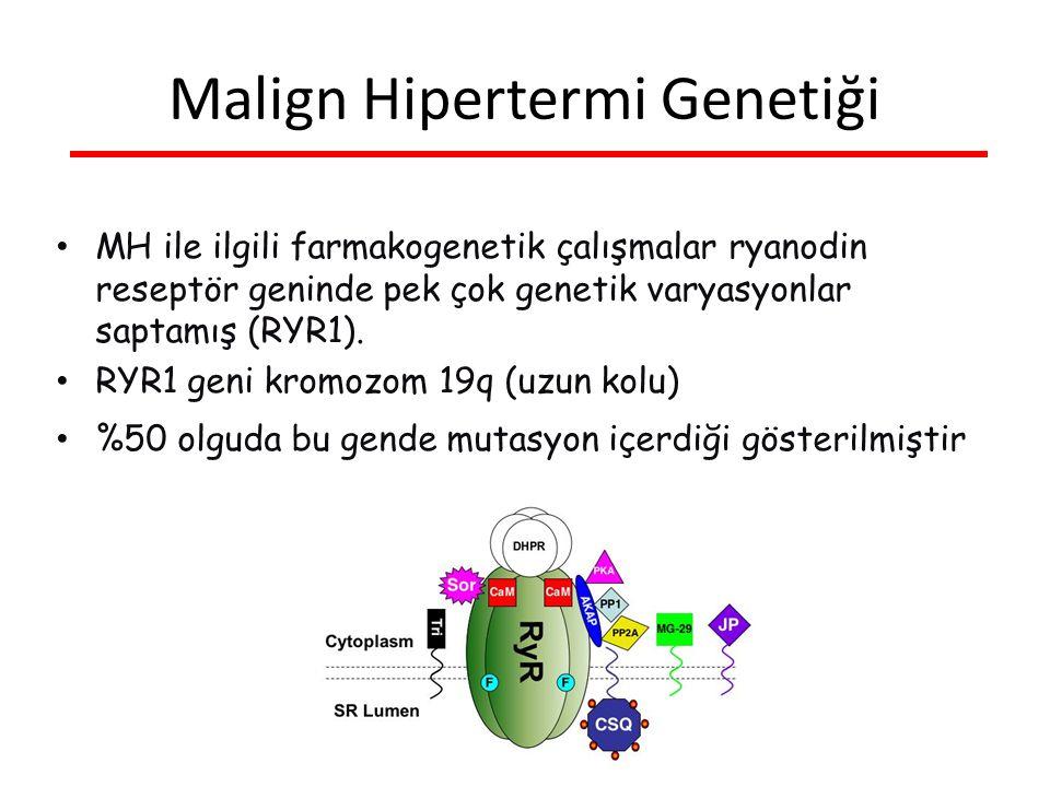 Malign Hipertermi Genetiği