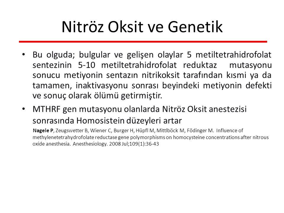 Nitröz Oksit ve Genetik