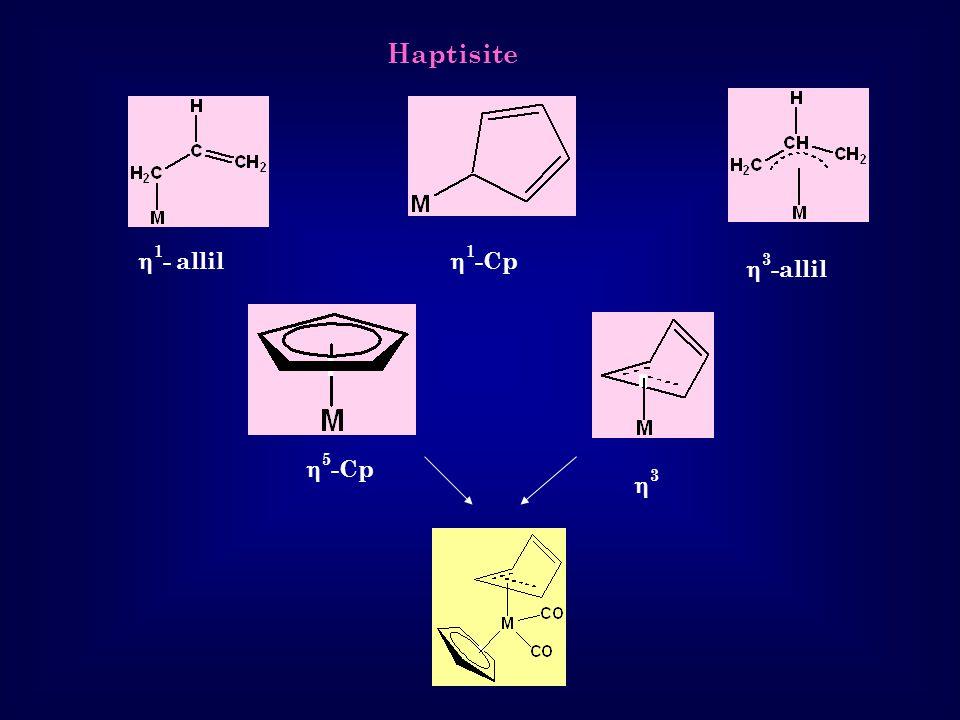 Haptisite 1- allil 1-Cp 3-allil 5-Cp 3