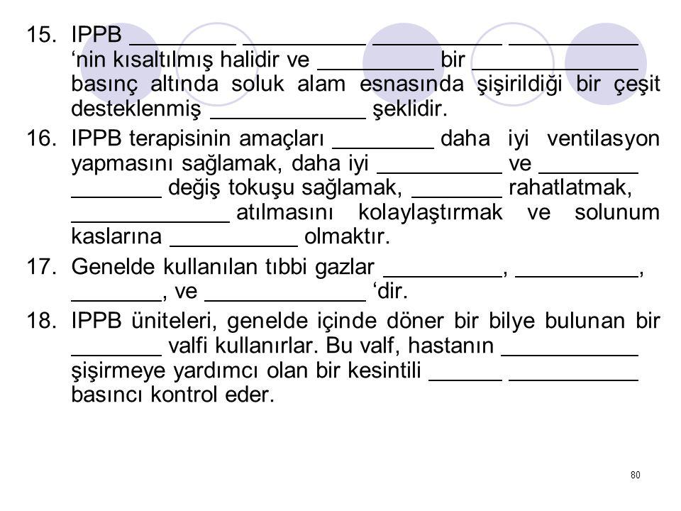 IPPB. 'nin kısaltılmış halidir ve. bir