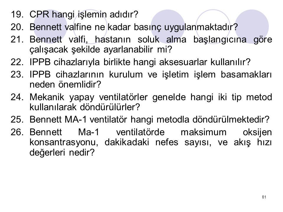 CPR hangi işlemin adıdır