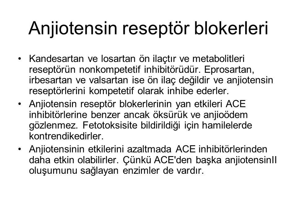 Anjiotensin reseptör blokerleri
