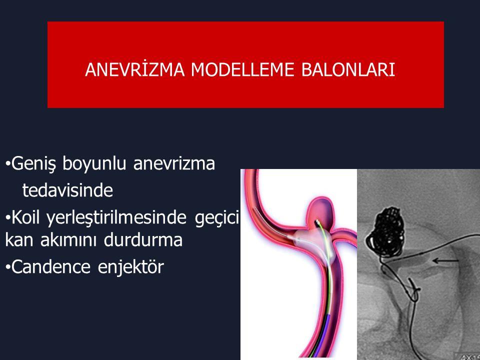 ANEVRİZMA MODELLEME BALONLARI