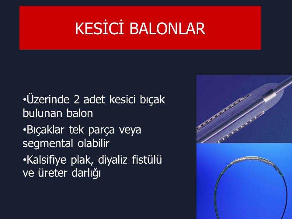 KESİCİ BALONLAR Üzerinde 2 adet kesici bıçak bulunan balon