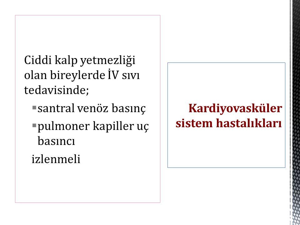 Kardiyovasküler sistem hastalıkları