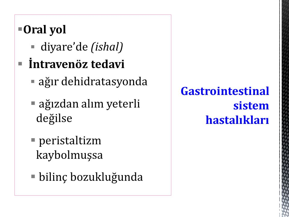 Gastrointestinal sistem hastalıkları