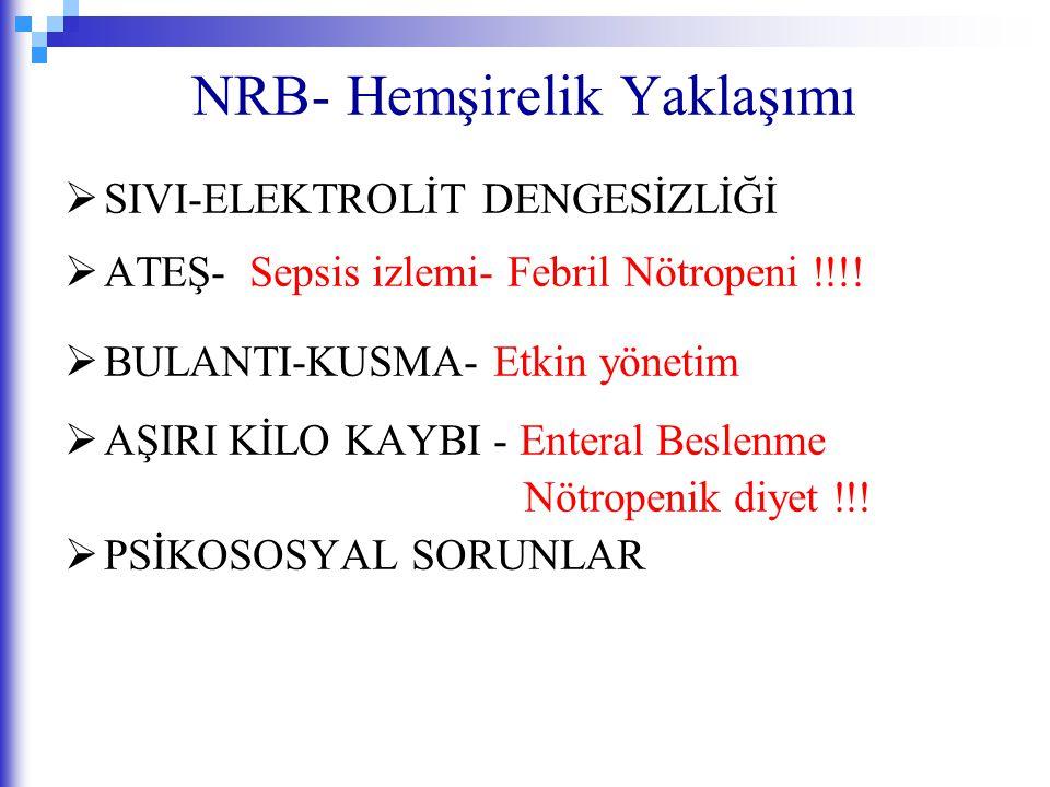 NRB- Hemşirelik Yaklaşımı