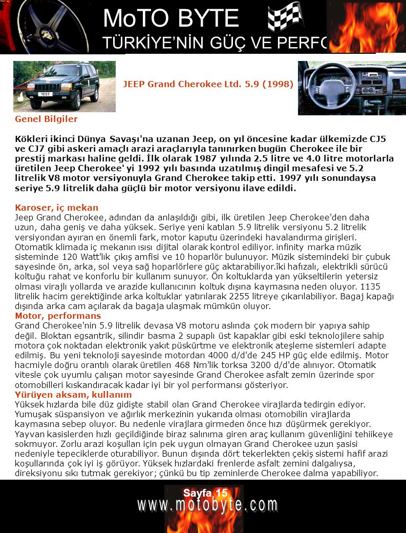 JEEP Grand Cherokee Ltd. 5.9 (1998)