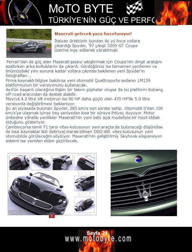 Maserati gelecek yaza hazırlanıyor!