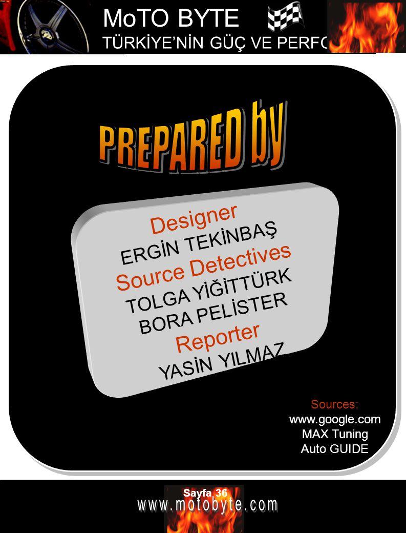 PREPARED by Designer Source Detectives Reporter ERGİN TEKİNBAŞ