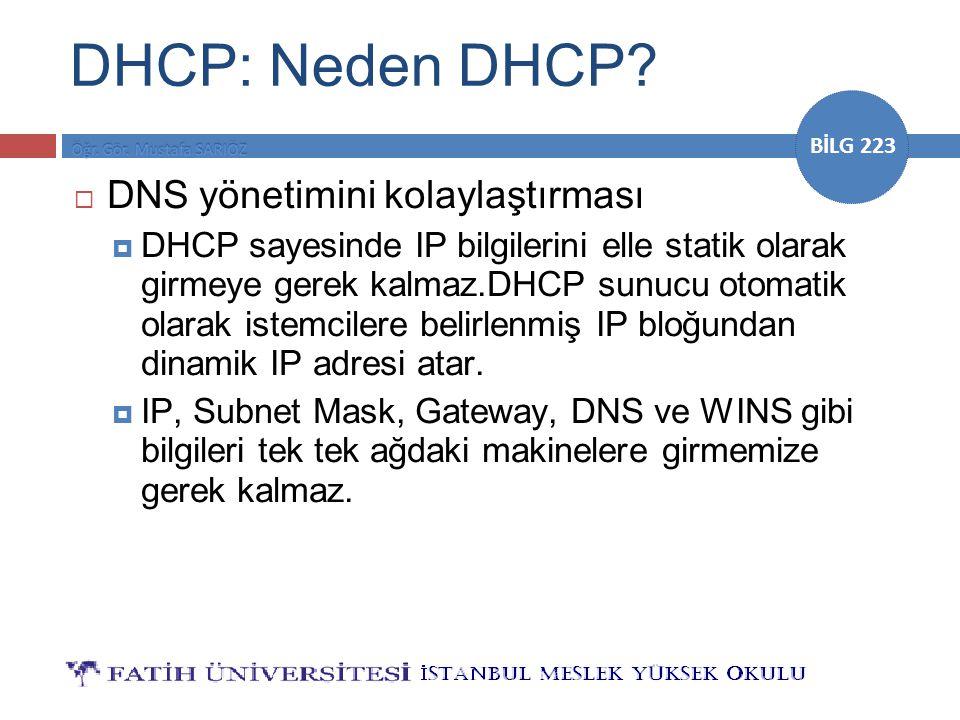 DHCP: Neden DHCP DNS yönetimini kolaylaştırması