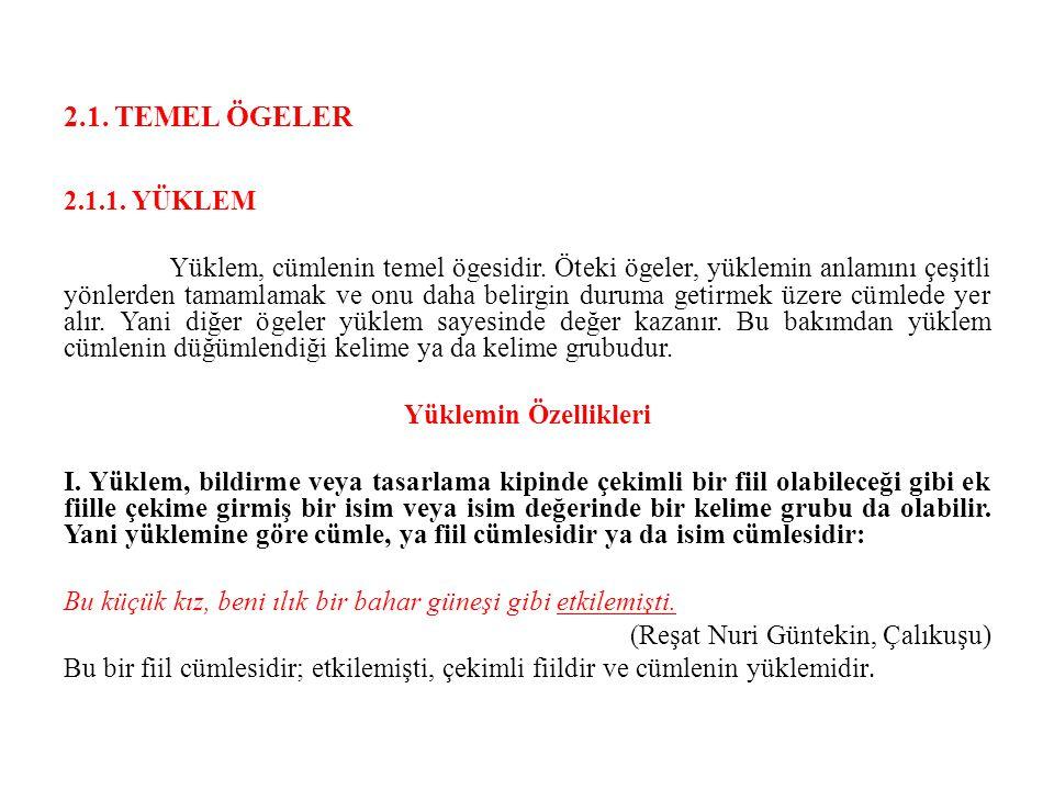 2.1. TEMEL ÖGELER