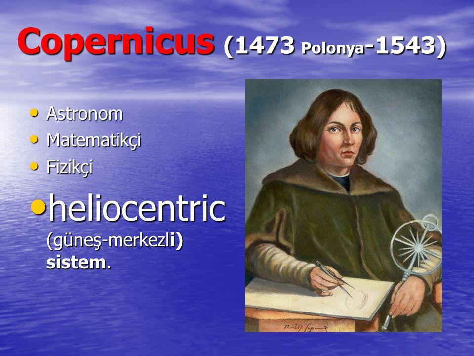Copernicus (1473 Polonya-1543)