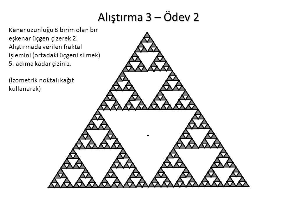 Alıştırma 3 – Ödev 2