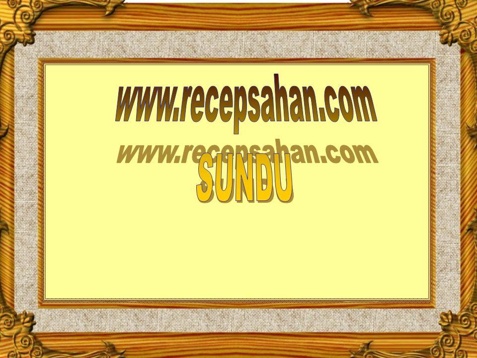 www.recepsahan.com SUNDU