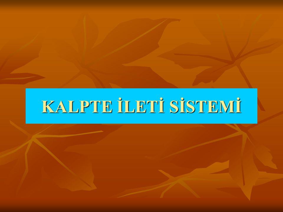 KALPTE İLETİ SİSTEMİ